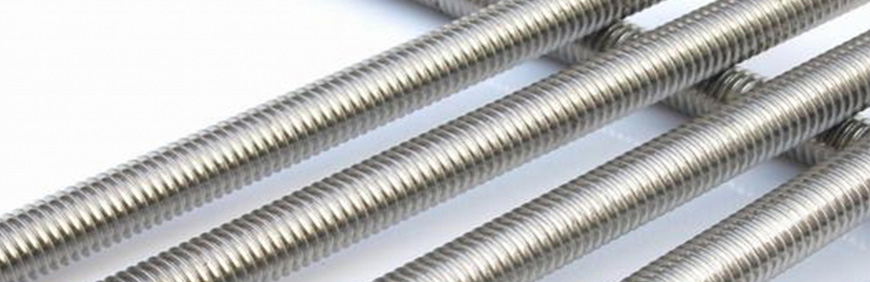 SS 347 Threaded Rods